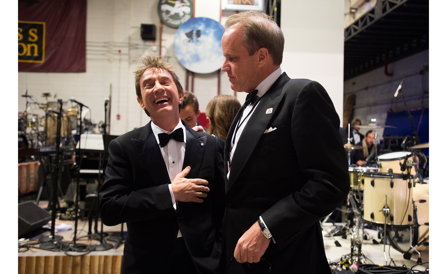 Michael Stevens and Martin Short | Washington DC Photographer Aaron Clamage