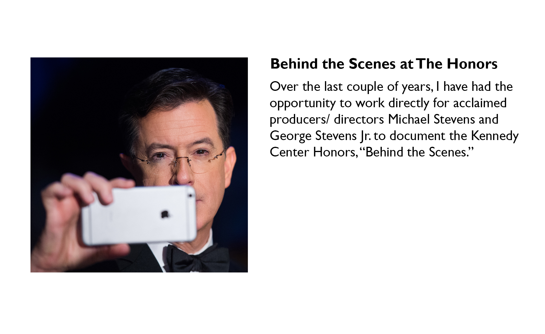 Kennedy Center Honors | Washington DC Photographer Aaron Clamage